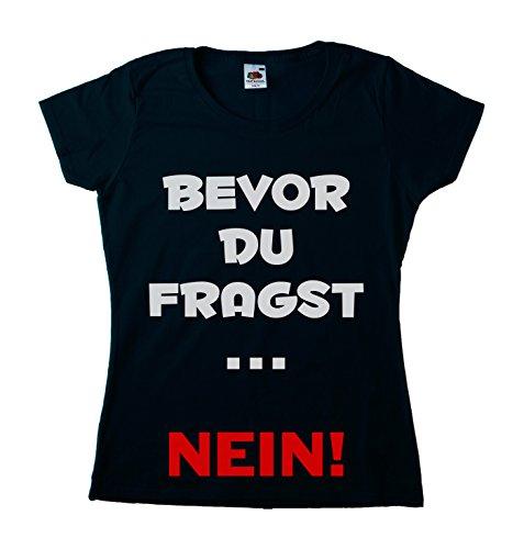 Damen Fun T-Shirt Large Schwarz (Sophia-der Erste Geburtstag)