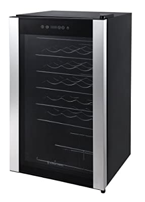 Russell Hobbs 34 Bottle Wine Cooler, Black by Russell Hobbs