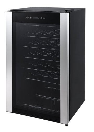 Russell Hobbs 34 Bottle Wine Cooler, Black Best Price and Cheapest