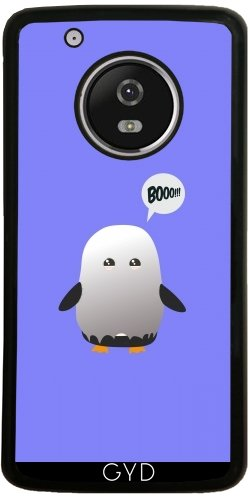 DesignedByIndependentArtists SilikonHülle für Moto G5 Plus - Halloween Pinguin by Ilovecotton