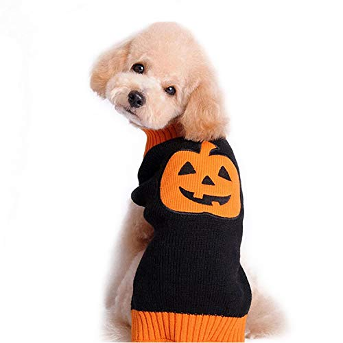 s-Pullover für Hunde, Orange und Schwarz, Large, schwarz ()
