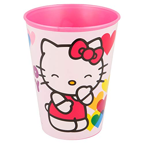 Hello Kitty Trinkbecher Kunststoff Klein 260 ml (Stor 82207) (Kitty Hello Becher)