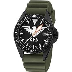 KHS Tactical Watches MissionTimer 3   Eagle One KHS.MTE.DO Militär Armbanduhr