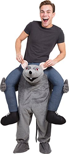 Ratte Mascot Halloween Tier Party Kostüm Neuheit Spaß -