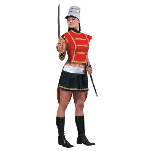 Kostüm Fuß Soldaten - Dress Up America 345-XL Adult Sexy Spielzeug Soldat Kostüm, Comme la Présentation, X-Groß (Taille 35-38 Zoll, Höhe 5'4