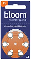 Rayovac Hearing Aid Batteries for Bloom Size 13 (Pack of 60 cells)