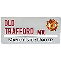 Manchester United FC. 'Sir Matt Busby Way' Metall Straße Unterzeichnen