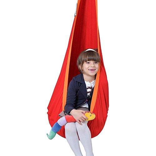 Lola Hängehöhle in ÖKO TEX für Kinder Loli Kids Hängesessel Kindersitz Flamingo