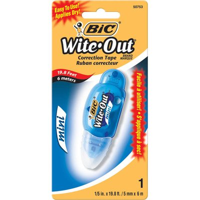 bulk-buy-bic-wite-out-correction-tape-mini-1-pkg-1-5x-198-womtp11-6-pack