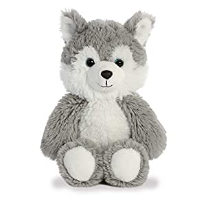 Aurora World 34208 - Peluche de Peluche, Color Gris y Blanco, 20,3 cm