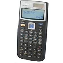 Citizen SR-270X College - Calculadora (bolsillo, Batería/Solar, Scientific calculator, Negro, Botones, CR2032)