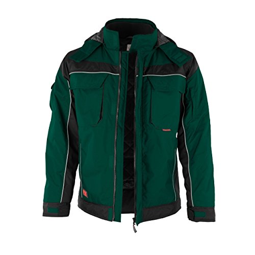 QUALITEX PRO-Winterjacke Arbeitsjacke Stehkragen mit Klett -verschieden Farben