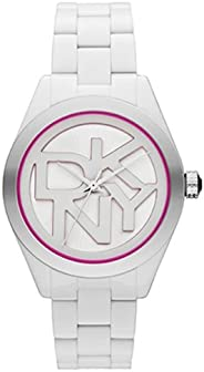 ساعة كاجوال بعقارب للنساء من دي كيه ان واي NY8801