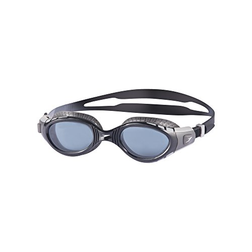 Speedo Futura Biofuse Flexiseal Schwimmbrille, Cool Grey/Black/Smoke, One Size