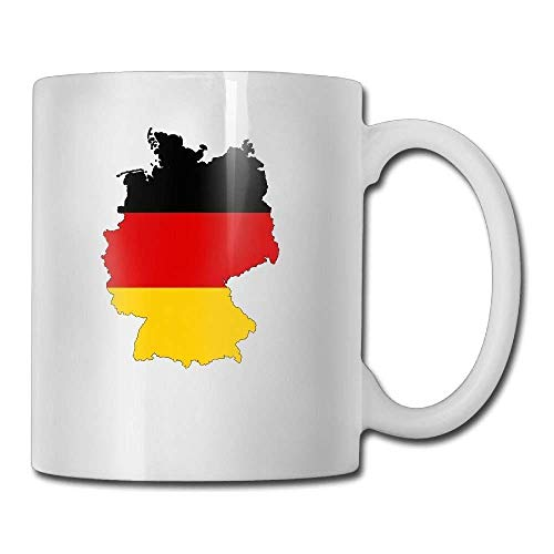 Germany Map Flag Land Country Stylish Tea Coffee Mugs - Add Pictures, Logo, Or Text To Our Custom Mugs -