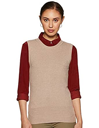 Marks & Spencer Women's Synthetic Cardigan (T38/5720_Neutral_S (8))