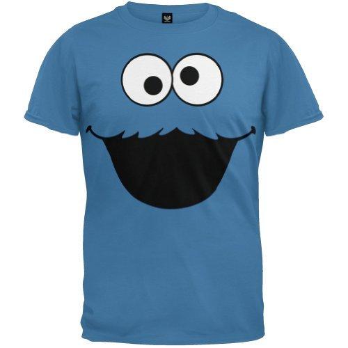 sesame-street-cookie-monster-face-blau-t-shirt-kinder-small