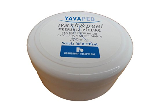 Yavaped wash & peel Meersalz-Peeling