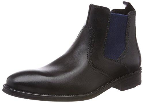 LLOYD Herren GALLO Chelsea Boots (Schwarz 0), 43 EU