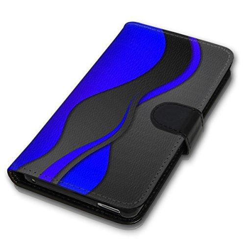 Wallet Book Style Flip Handy Tasche Case Schutz Hülle Schale Motiv Etui für Apple iPhone 4 / 4S - Variante UMV6 Design12 Design 3