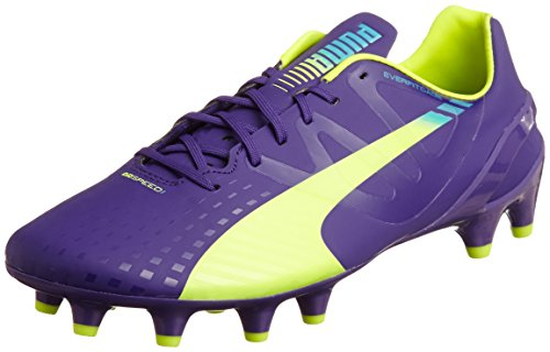 puma-evospeed-13-fg-chaussures-de-football-homme-violet-prismviolet-yellow-blue-42-eu-8-uk