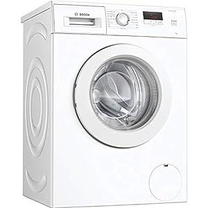 Bosch WAJ24006GB Serie 2 Freestanding Washing Machine, 7kg load, 1200rpm spin, White