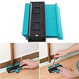 Megade - Strumento di misurazione e marcatura in plastica, per marcatura del legno e laminato, 120 mm