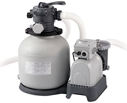 Intex Krystal Clear Sand Filter Pump - Poolreinigung - Sandfilteranlage - 12 m³ - 220-240V (W/RCD)