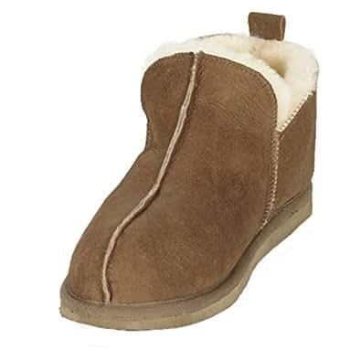 f8f6b8eaaf1 Mens / Ladies Genuine Full Sheepskin Slipper Bootie by Shepherd of Sweden
