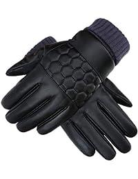 76b06ee68f83f Gants D'Hiver Pour Hommes Écran Gants De Moto Fashion Tactile Gants  Extérieurs De Mode