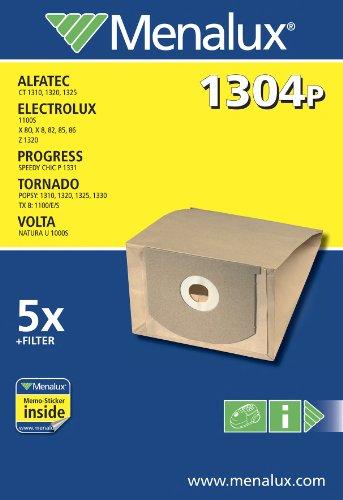 Bolsas de papel para aspiradoras Electrolux 750 y Royal Menalux 1221 P 5 unidades