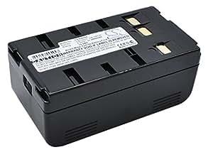 Batterie pour Panasonic PV-IQ403, 6V, 2400mAh, Ni-CD