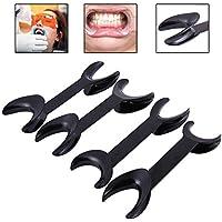 OYOTRIC 4 pcs Small Size + Large Size Black Dental Tool T-Shape Cheek Intraoral Lip Retractor Opener Double Opener... preisvergleich bei billige-tabletten.eu