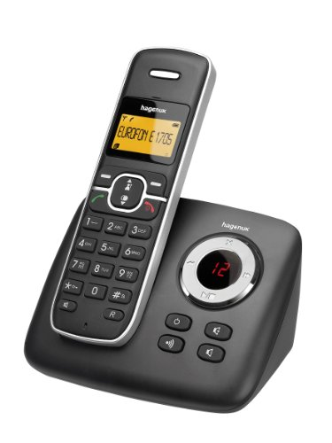 Hagenuk Eurofon E1705 Schnurlos Telefone Anrufbeantworter (1 Mobilteile)