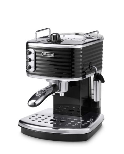 De'Longhi ECZ351.BK Scultura Traditional Pump Espresso Coffee Machine, 1100 W - Black Best Price and Cheapest