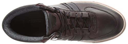 Camel Active Bowl 70 Damen Hohe Sneakers Marciume (bordo / Nero / Grigio)