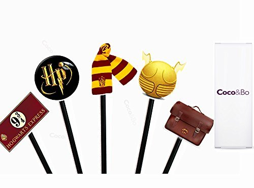 10 x – Mágico magos Cupcakes/Púas – Harry Potter decoracione