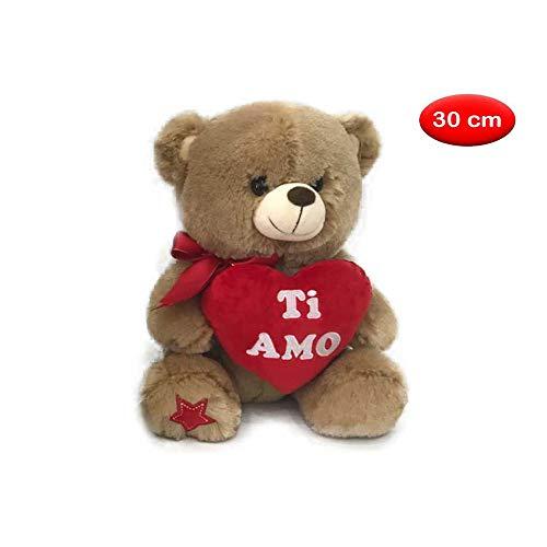 Mazzeo giocattoli orsacchiotto con cuore 30 cm