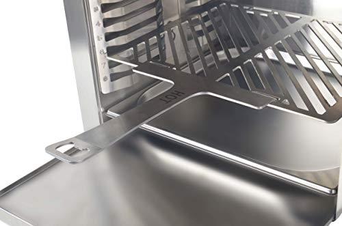 Matrix XL GrillBox 880XL | Oberhitzegrill | 880 Grad | Steakgrill aus Edelstahl, 2 Keramikbrenner, 6,5 KW