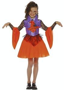 César - Disfraz de bruja para niña, talla 10 años (G735-002)