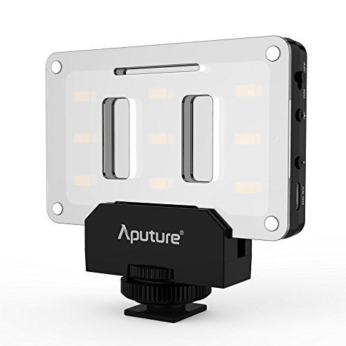 Aputure AL-M9 Amaran Lighting Up Pint-Sized LED Fill lampe Mini Vidéo Lumière avec 9 SMD Bulbs...