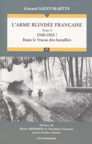 L'arme blindée française, tome 2