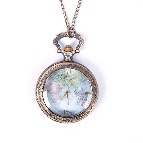janedream-1pc-vintage-world-map-pattern-quartz-chain-pendant-pocket-watch-necklace
