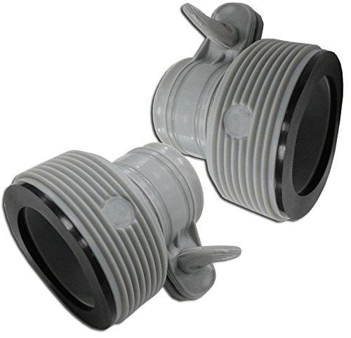 Intex Schlauch Adapter Conversion Kit für 15002500Filter Pumpen 2500910722 Adapter-kit