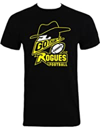 Men's Black T-Shirt Featuring Gotham Rogues Design Inspired by Batman The Dark Knight Rises