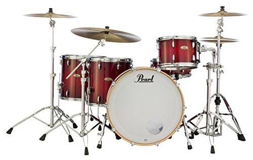 Pearl sts944X P/C315Session Studio Select Series 4Shell Pack (Hardware/Becken nicht im Lieferumfang enthalten), antik Crimson Burst -