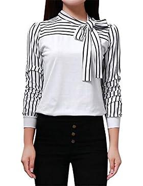Donna Camicia Elegante Manica