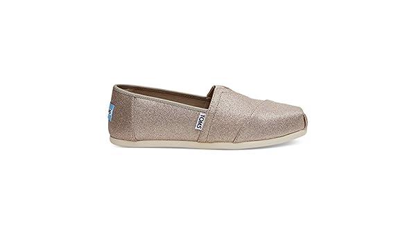 80096c3e934 TOMS Seasonal Classic Slip On Rose Gold Glimmer - 6 UK  Amazon.co.uk  Shoes    Bags