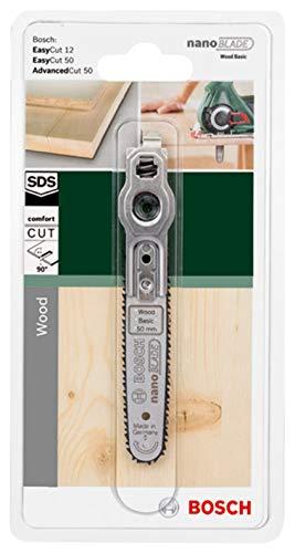 Bosch Sägeblatt Wood Basic 50 (mit NanoBlade Technologie für EasyCut 12, 50, AdvancedCut 18 und AdvancedCut 50) - 2