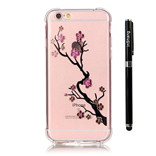 inShang iPhone 7 Plus Coque Housse de Protection Etui 4,7 Plus inch [Transparent Coque d'iPhone] [bronzante technologie 3D image], Ultra mince et léger Case Cover de protection pour iPhone 7 Plus 4,7  08